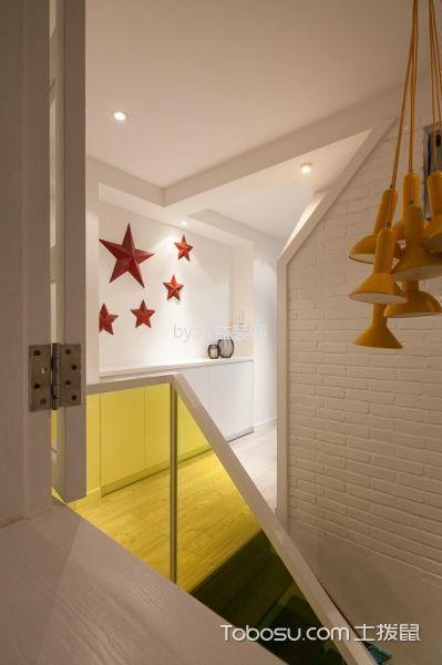 玄关白色楼梯现代风格装修效果图