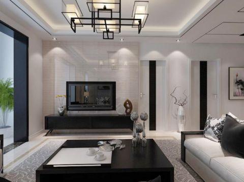 2019新中式60平米装修效果图片 2019新中式一居室装饰设计
