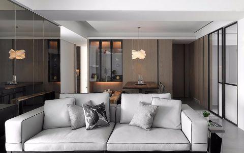 2019现代简约40平米图片 2019现代简约一居室装饰设计