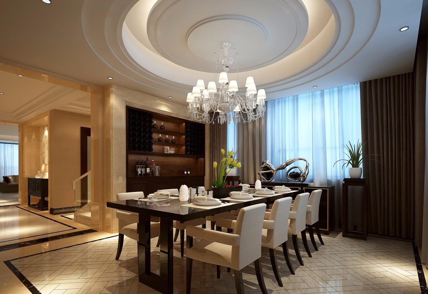 4室3卫3厅300平米中式风格