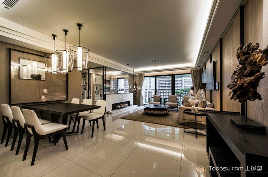 2021经典150平米效果图 2021经典三居室装修设计图片