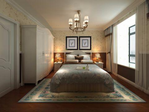 2021新古典110平米装修图片 2021新古典三居室装修设计图片