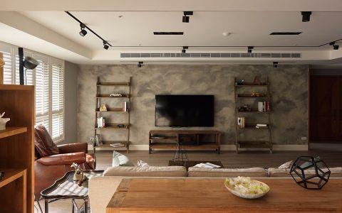 2020现代简约120平米装修效果图片 2020现代简约公寓装修设计