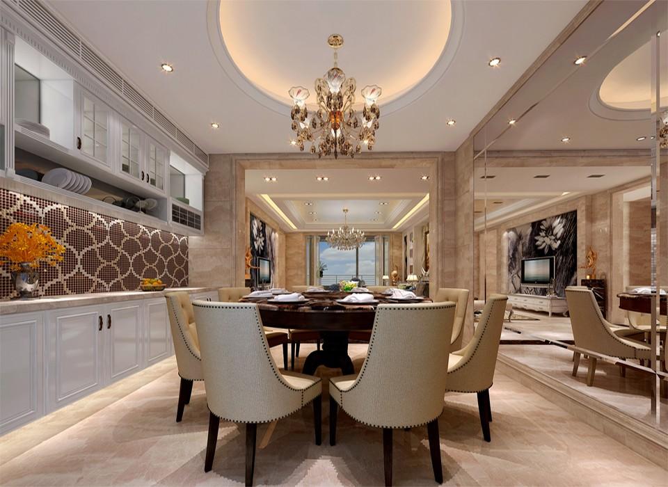 3室1卫2厅320平米欧式风格