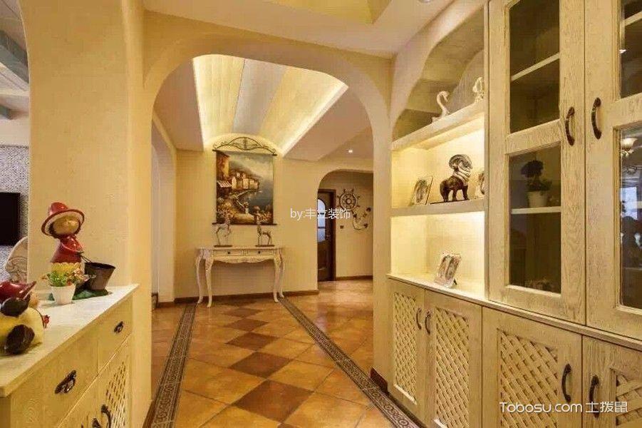 经典上城美式风格四居室案例装修