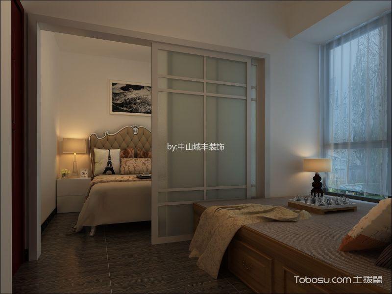 100平三居室简约风格装修效果图