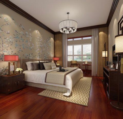 2021中式240平米装修图片 2021中式四居室装修图