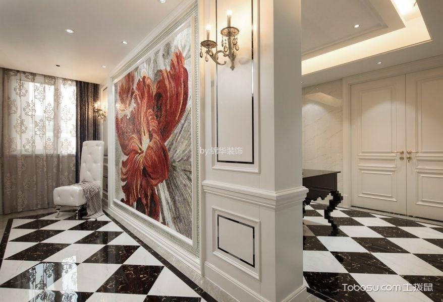 东方王榭180平米简欧风格四居室装修效果图