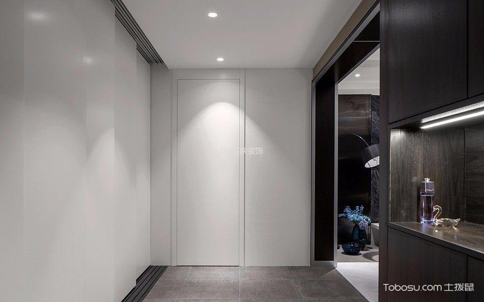 110平米灰色调简约大气时尚设计效果