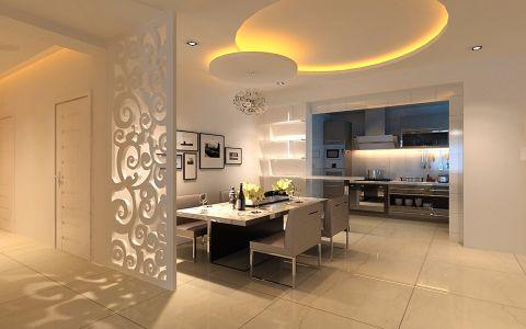 2021现代简约150平米效果图 2021现代简约四居室装修图