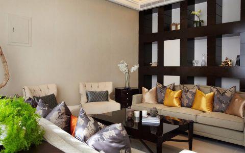2021新古典120平米装修效果图片 2021新古典三居室装修设计图片