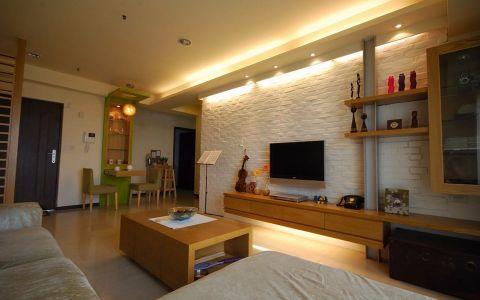 2019现代简约80平米设计图片 2019现代简约二居室装修设计