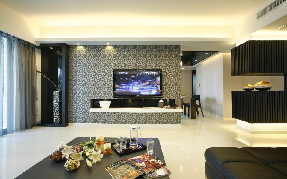 2室2卫1厅100平米现代风格