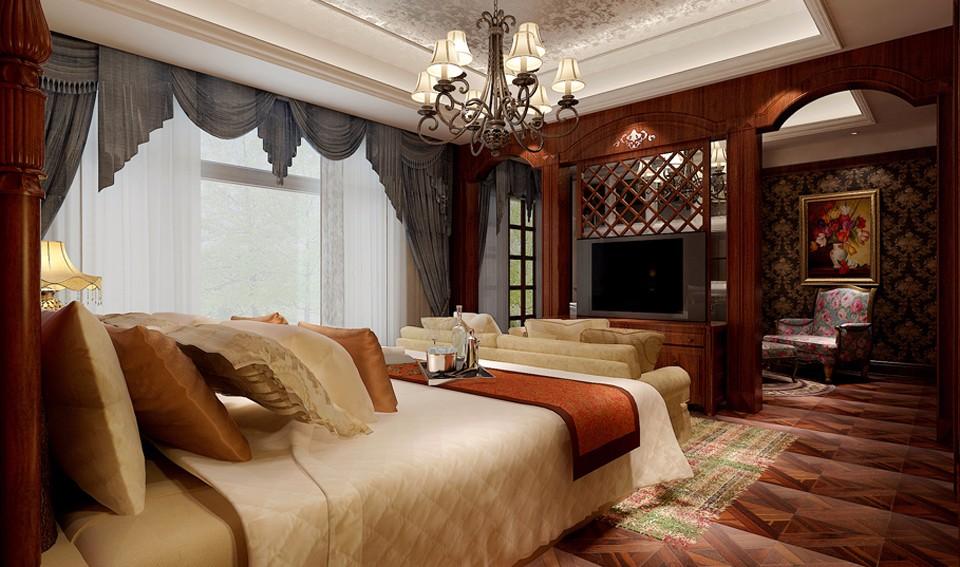 4室3卫2厅350平米欧式风格