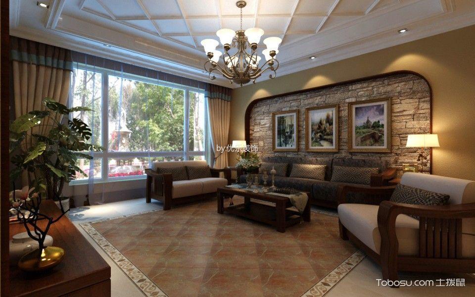 棕榈泉国际花园别墅美式效果图