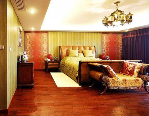 中意宝第东南亚风格两室一厅装修案例
