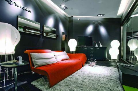 160平高亮客厅现代简约设计效果图