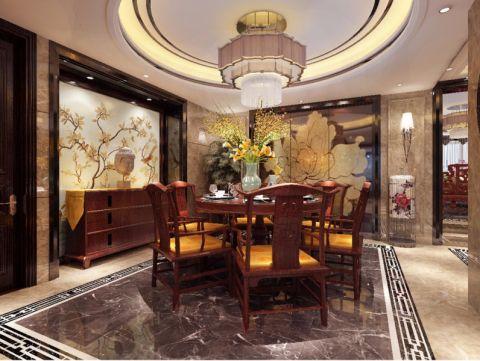 200平米5居室中式风格装修效果