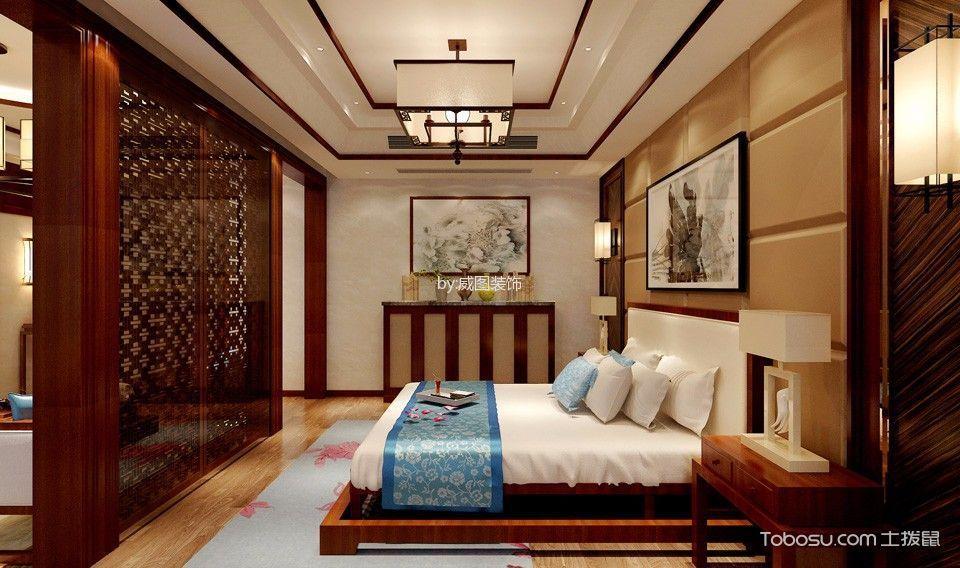 紫禁城新中式大平层装修效果图