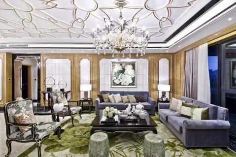 美好桂花金座三房混搭风格装饰效果图
