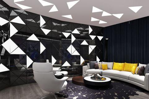 中山大厦现代玩家会所工装装修设计图