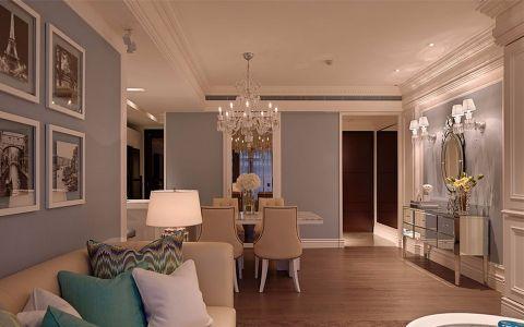 客厅吊顶欧式风格装修设计图片