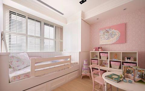儿童房窗帘欧式风格装潢设计图片