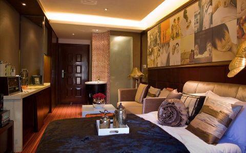 卧室走廊美式风格装潢设计图片