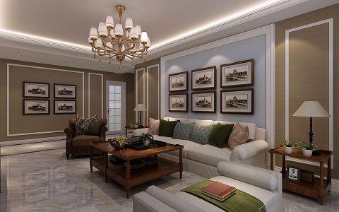 客厅背景墙简约风格装修效果图