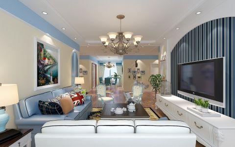 180平地中海系列四居室装修效果图