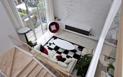 286平米现代简约风格别墅设计效果图