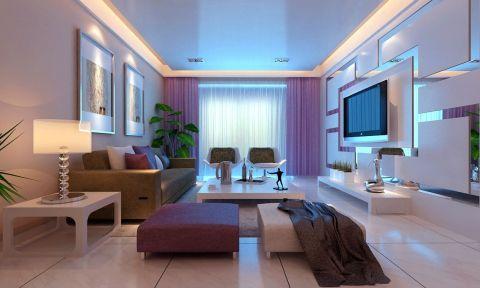 大观国际小三房98平米装修效果图
