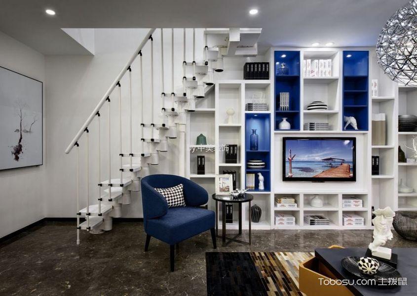 水木清华+复式五室两厅+简约现代+装修实景照