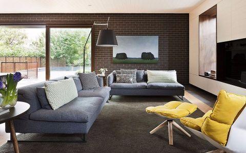 富陽自建房小高層現代簡約裝飾效果圖