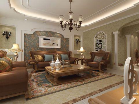 名门盛世欧式四居室装修效果图