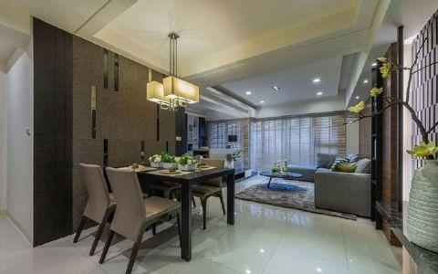2020地中海90平米效果图 2020地中海二居室装修设计