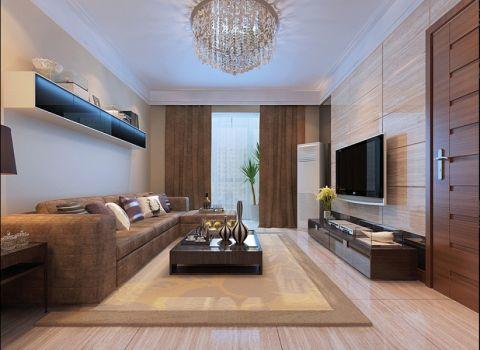 2020简约120平米装修效果图片 2020简约套房设计图片