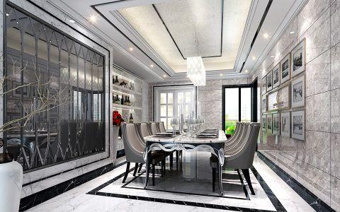 第六都四居室后现代风格效果图