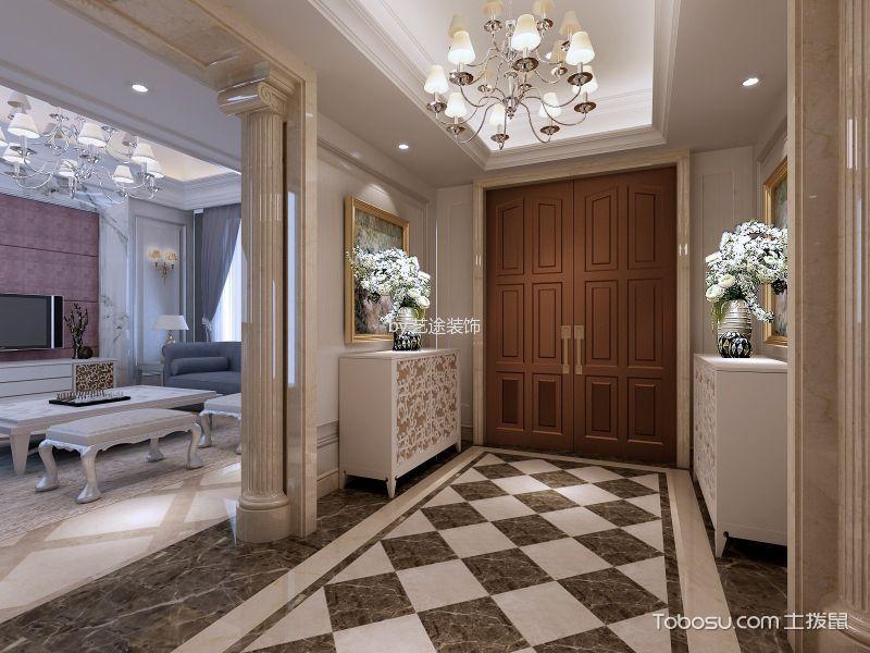 150平米欧式风格四居室装修效果图