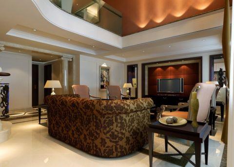 300平米美式风格别墅装修效果图