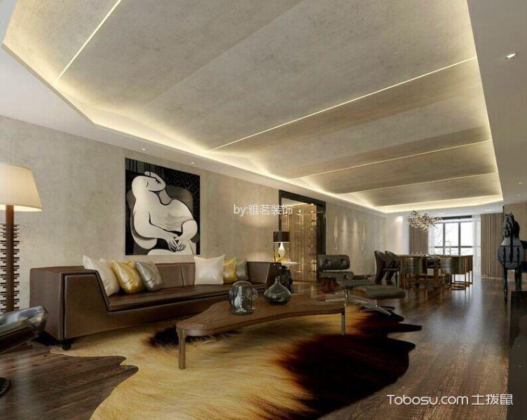 保利小区120平米混搭风格两居室装修效果图