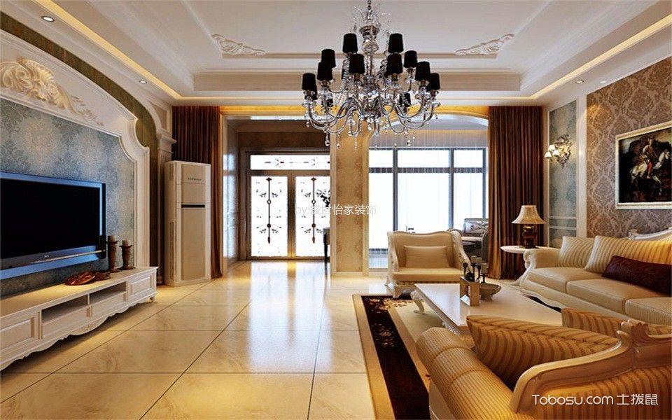 天津枫景园220平米现代风格别墅装修效果图