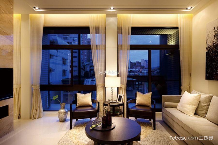 红星紫郡130平米现代简约风格四居室装修效果图