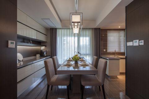 世贸香槟湖120平米北欧风格三居室装修效果图