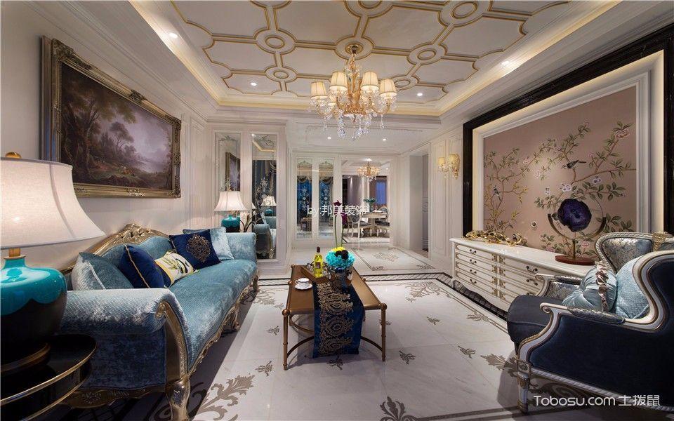幸福公寓80平法式装修风格效果图