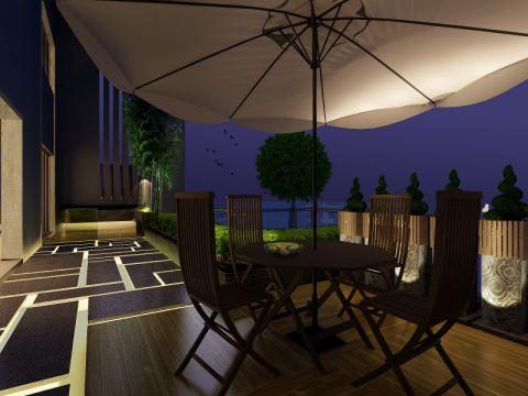 别墅新中式风格装修效果图