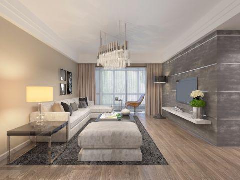 润景园著-三室两厅-现代简约装修效果图