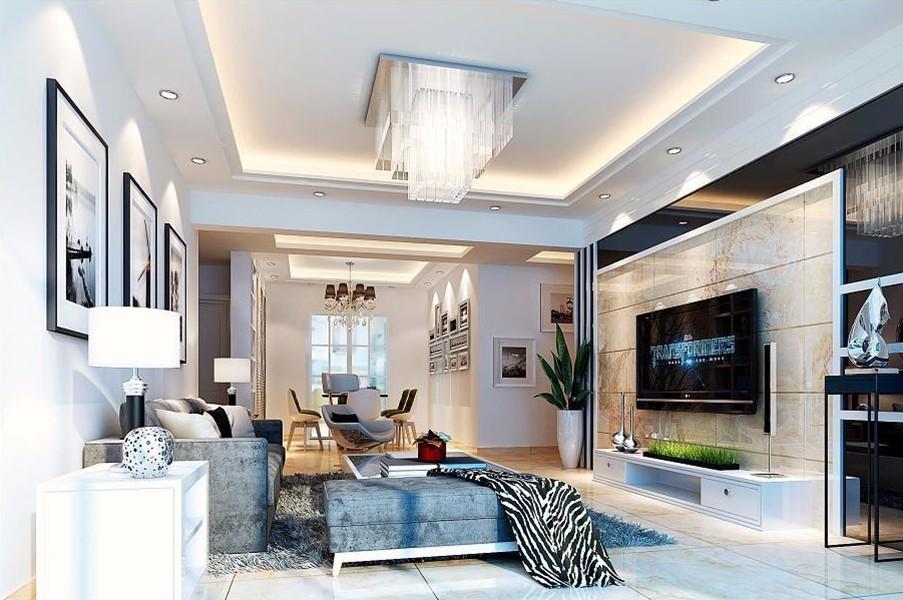4室2卫2厅142平米现代简约风格