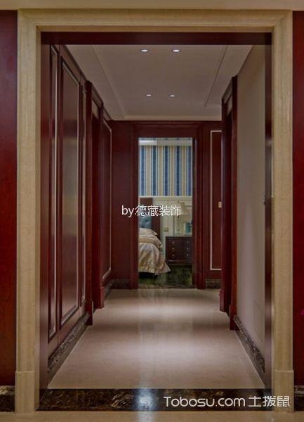 2020古典玄关图片 2020古典走廊效果图