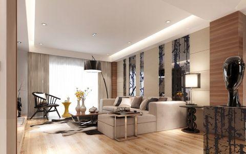完美客廳房屋現代簡約設計效果圖
